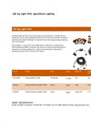 LED Ag Light Kits Datasheet