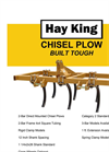 Chisel Plows- Brochure