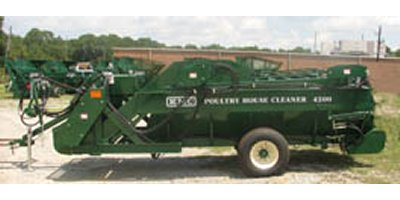 KMC  - 4200 - Poultry House Cleanout Machines