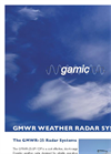 GAMIC - Model GMWR-25-DP - Dual Polarization Mini Weather Radar Brochure