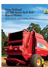 BR7000 - Round Balers Brochure