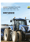 New Holland GENESIS - T8 Series – Tier 4B - Tractors - Brochure