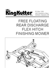 Rear Discharge Mowers - Brochure