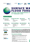 Surface Water Flood Forum-Brochure