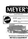 Model 3600 - Heavy Duty Upper Beater Drive Spreaders Brochure