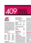 409 - Stainless Steel Brochure