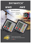 Skywatch - Model AWS - Anemometer Thermometer with Alarms Brochure