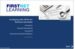 Complying with HIPAA for Business Associates Course