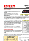 ESTeem - CHP SErial 450-470 MHz – Wireless Solution for Water/Wastewater Datasheet