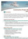 Construction Project Managment / BOP Turnkey Brochure