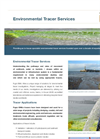 Environmental Tracer Services Brochure