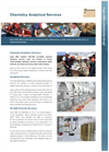 Chemistry Analytical Services Brochure