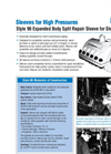 Pipeline Repair Sleeves - Factsheet