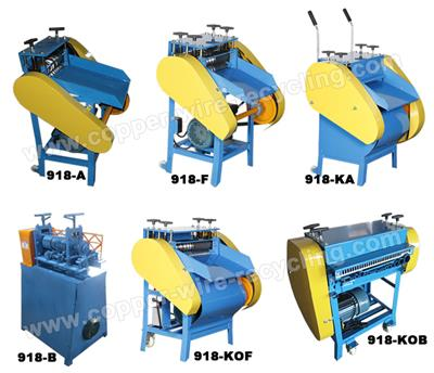 Amisy - Model mutiple - Top Eight Wire Stripping Machines