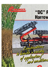 Model DC - Double and Single Roller Harrow Brochure