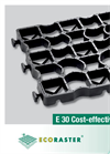 Model EL30 - EcoGrid Plastic Paving Grids - Brochure