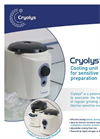 Cryolys Evoluiton Cooling System for Sensitive Sample Preparation - Brochure
