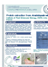 Protein Extraction from Arabidopsis with Minilys Application Brochure