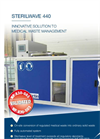Sterilwave 440 Medical Waste Disposal Equipment Brochure