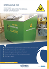 Sterilwave 250 Medical Waste Disposal Equipment Brochure