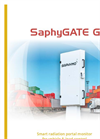 SaphyGATE - Model G - Radiation Portal Monitor Brochure