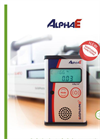 AlphaE – Ultra - Small Radon Monitor Brochure