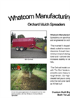 Orchard Mulcher Model 850- Brochure