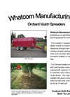 Whatcom - Model 650 & 850 - Orchard Mulcher Brochure