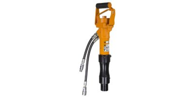 Skidril - Model HP12 / HP16 / HP18 / HP20 - Hydraulic Post Driver(S) and Air Powered Post Driver(S)