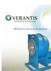 FRP Fans for Corrosive Air Handling Brochure