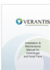 Centrifugal and Axial Fans Installation & Maintenance Manual