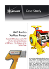 HMD Kontro Sealless Pumps Brochure