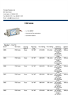 Model 1700 Series - Fixed Set Points - Flow Switch - Brochure