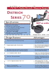 Dietrich - Model 70 - Manure Injection Toolbar Brochure