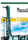 T-690-W - Water Well Drills Brochure