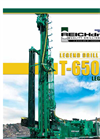 T-650-W Legend 3 - Water Well Drill Brochure