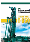 T-650-W Legend 5 - Water Well Drill Brochure