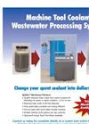 Machine Tool Coolant Wastewater Processing System Datasheet