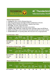 AC Thunderbird - - Yellow Semi-Leafless Field Pea Datasheet