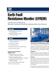 Accumetrics - Model AT-8000 - Earth Fault Resistance Monitor - Brochure