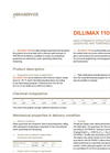 Dillimax - 1100 - High Yield Strength Steels Datasheet