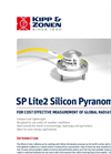 Kipp & Zonen - SP Lite2 - Silicon Pyranometer for Routine Measurement of Solar Radiation Datasheet