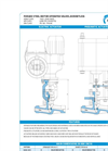 Model 02.1, 02.6, 02.2 - Bonnetless Forged Steel Motor Operated Valves Brochure