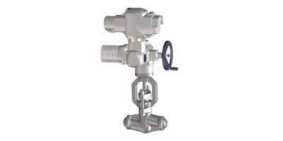 Model 02.1, 02.6, 02.2 - Bonnetless Forged Steel Motor Operated Valves
