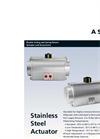 KSB Amri - Model A Series - Stainless Steel Actuators - Brochure