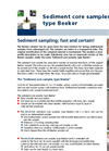 Model 04.23.SA - Sediment Core Sampler Type Beeker, Standard - Brochure
