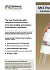 ThetaProbe - Model ML3 - Soil Moisture Measuring Sensor Set Brochure