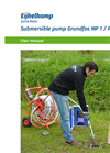 Eijkelkamp Grundfos - Model MP 1 / Redi-Flo2 - Submersible Pump - User Manual