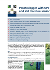 Eijkelkamp - Penetrologger with GPS and Soil Moisture Sensor - Brochure