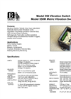 Model 550M - Metric Vibration Switch Brochure